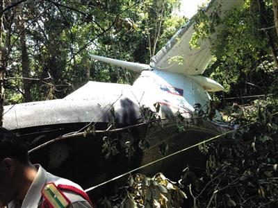 飞机失事原因正在调查中
