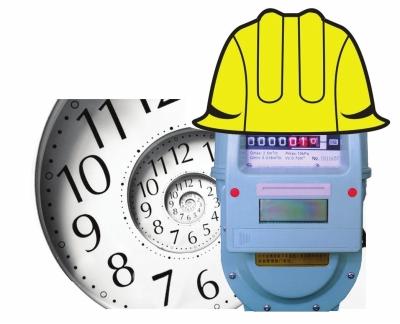 兰州:天然气表安全使用期只有10年/图