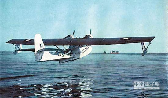 """失踪逾半世纪的""""蓝天鹅""""终于证实坠海, 图为同型飞机。"""