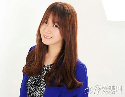 最in韩式长发发型 散发清新气质美|头发|发型_凤凰时尚