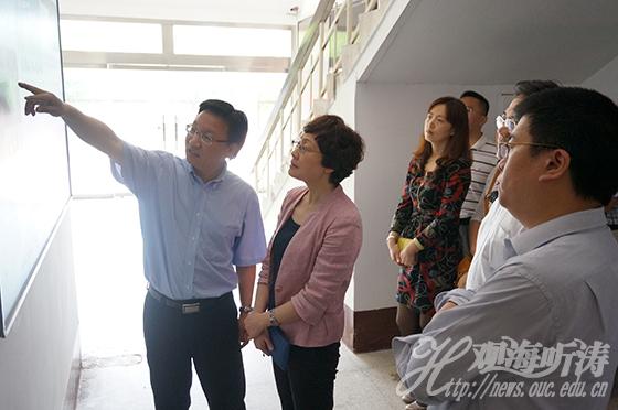 青岛市科技局局长姜波一行访问实验室