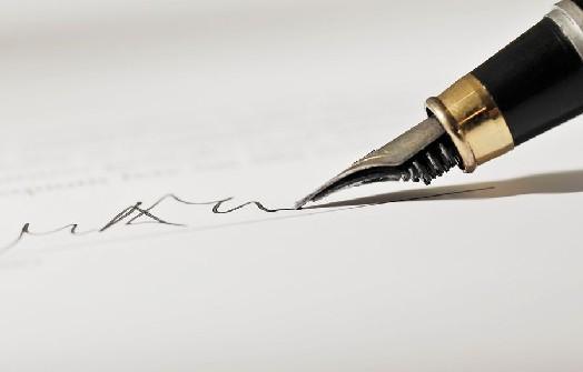 钢笔组装方法图解