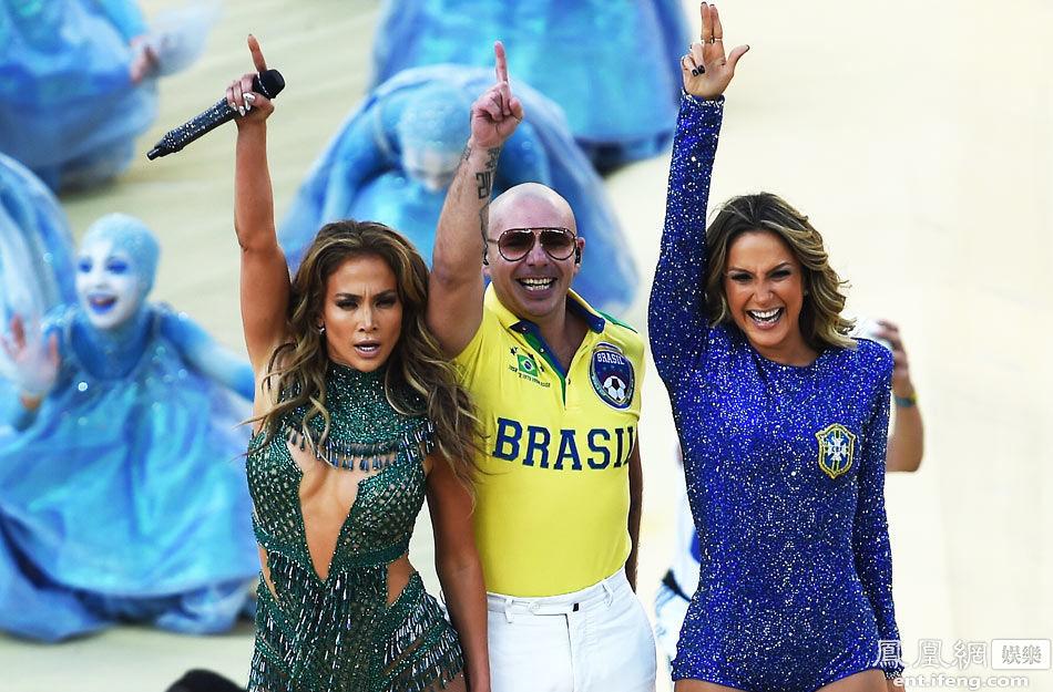 世界杯开幕洛佩兹性感秀美臀高清大图 娱乐