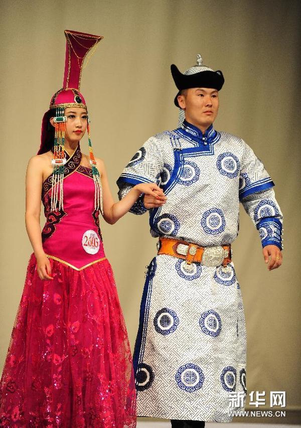 第十一届中国蒙古族服装服饰艺术节精彩纷呈图片