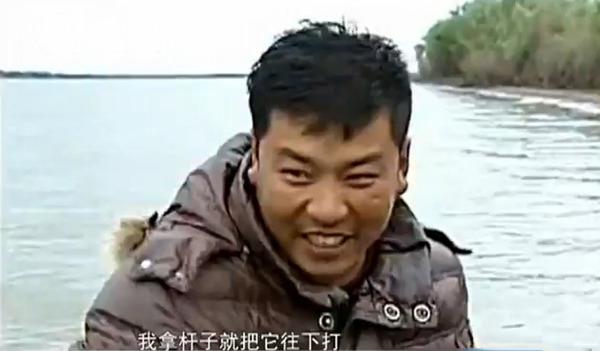 野生东北虎渡江欲爬上渔船被打退(图片来源网络)
