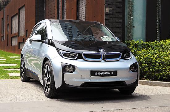 作为一款代表未来的电动车,宝马i3无论是从外观还是内饰等方面都体现