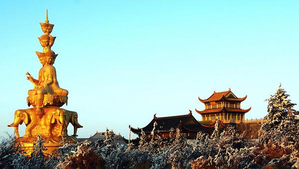 乐山市峨眉山景区 来源 四川旅游资讯网