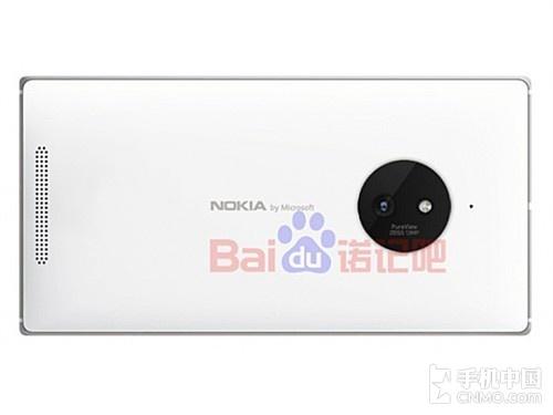 Lumia 830机身背部出现微软诺基亚商标