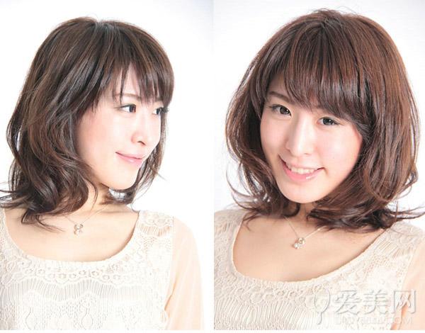咖啡色染发发型 打造清新女神气质|发型|头发_凤凰时尚