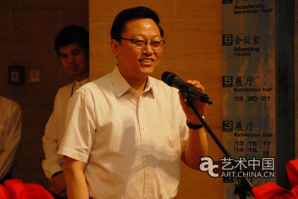 江苏省文化厅副厅长高云致辞