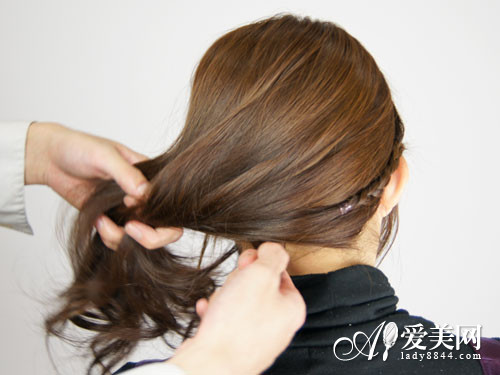 编发扎发教程图解 打造最甜美发型