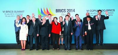 新华社记者 兰红光摄-习近平出席金砖国家同南美国家领导人对话会图片