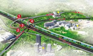 记者昨日从沈阳市建委获悉:谟家堡跨三环桥v记者使用,机动车走行状元普通高中图片