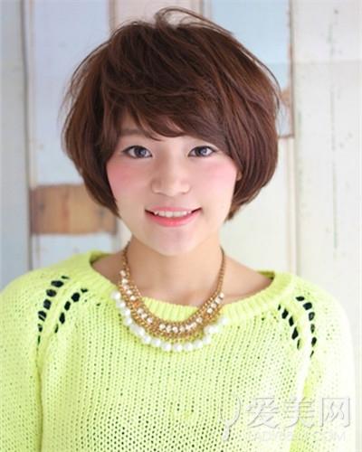 国字脸发型适合的女生女生又减龄|短发|刘海瘦脸脸型的漂亮图片
