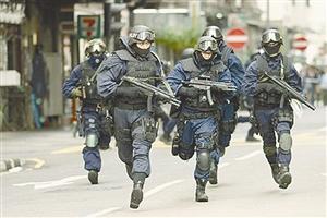 香港飞虎队40年 只收过380多警员