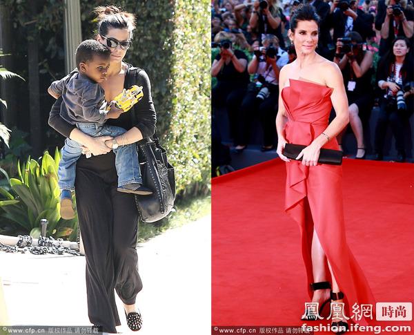 桑德拉布洛克 安吉丽娜朱莉 卡梅隆迪亚兹曾登福布斯好莱坞女星收入榜冠军