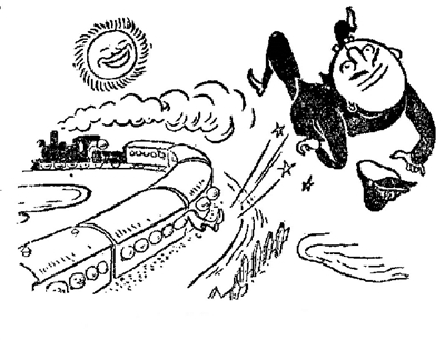 火车简笔画步骤图解