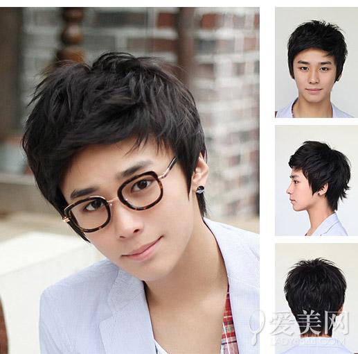 韩国男生短发发型 帅气呆萌凸显完美脸型