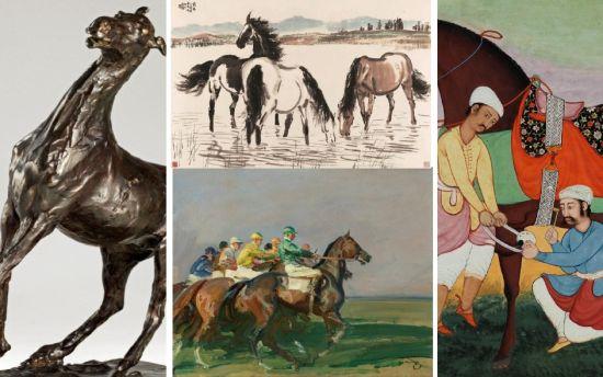 佳士得举办《马的艺术》私人洽购展览图片