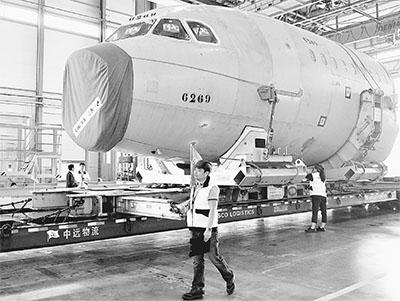 第200架飞机部件抵厂