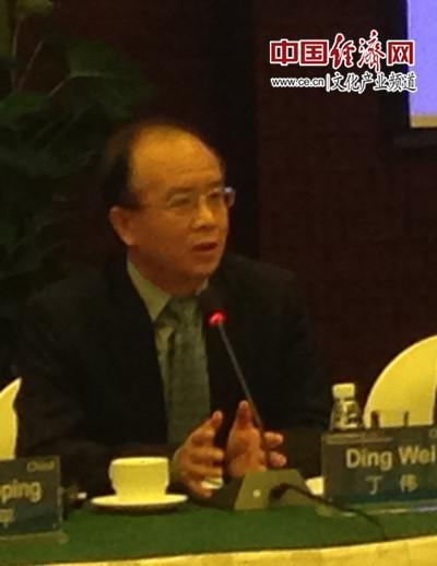 文化部副部长丁伟 中国经济网记者张晶雪/摄