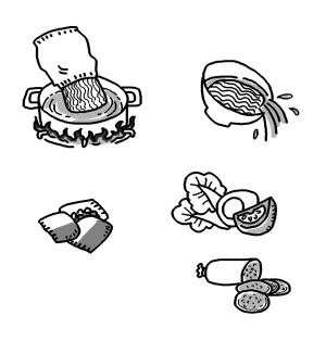每周吃两袋方便面当心肾脏出现异常