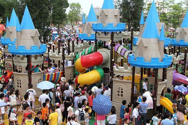 广州儿童公园二期将建5000㎡游戏沙滩