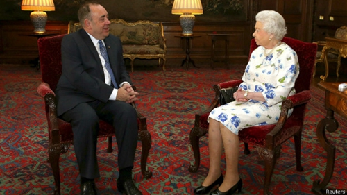 白金汉宫 英女王 超越政治 无意影响苏格兰公投结果图片