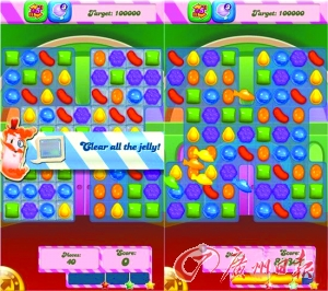 糖果传奇(candy crush saga):从天而降的糖果雨
