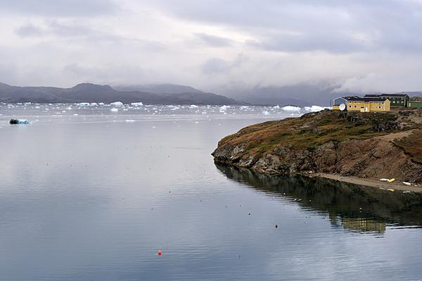 南格陵兰:纳萨克 bull     极光舞之夜 - 闲云野鹤 - 闲云野鹤的博客