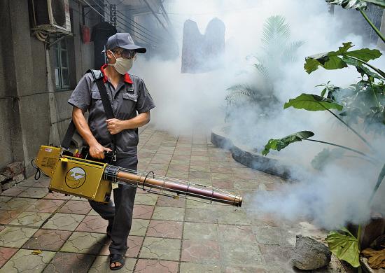 今年广州登革热疫情严重 入冬别放松防范