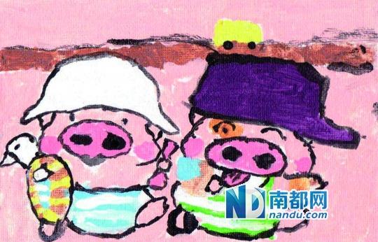 迷你数字画:涂鸦背后的童心