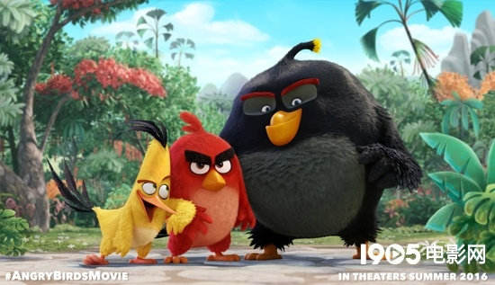 """电影《愤怒的小鸟》曝光角色造型 """"大红""""等亮相"""