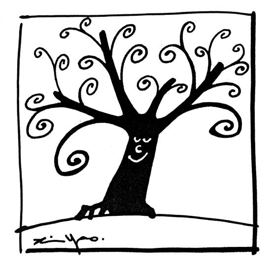树简笔画步骤图解
