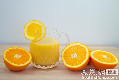 多喝茶与橙汁 卵巢癌风险降1/3