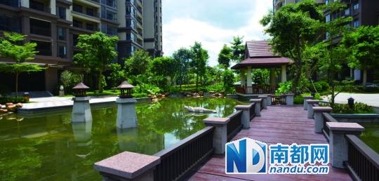 东南亚园林小区 首付5万元的高性价比楼盘