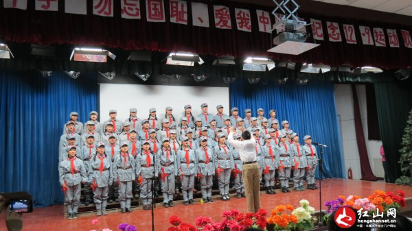 """乌鲁木齐市第66中学歌咏比赛纪念""""12.9学生运动"""""""