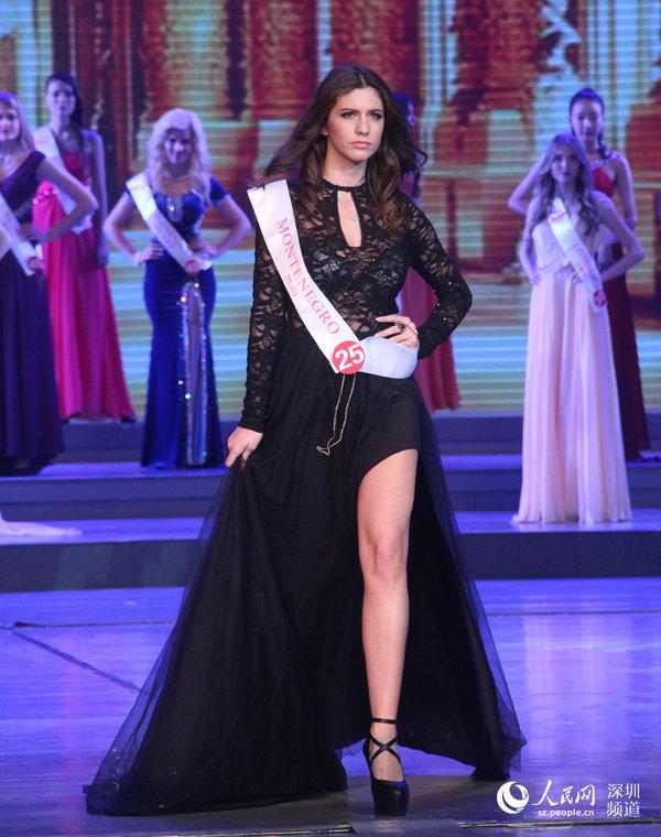 2014年世界旅游小姐全球总决赛在深圳落幕图片