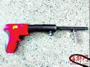 公诉射钉枪卖五人被预留|射钉枪|图纸罪枪支洞口改装表示图片