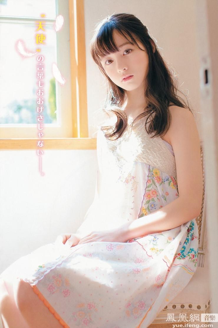 千年美少女 桥本环奈白裙写真清纯似天使
