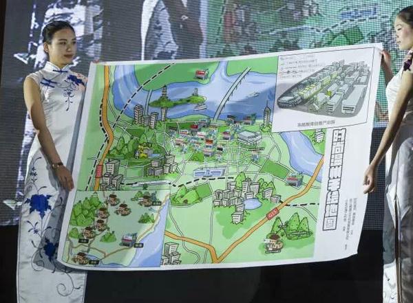 时尚温州手绘地图)