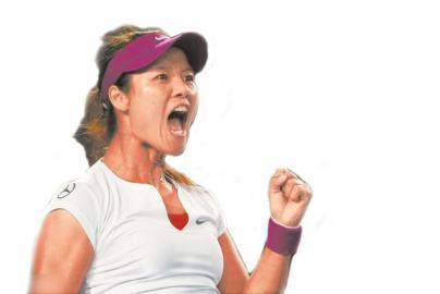 一年前,李娜澳网夺冠意气风发。