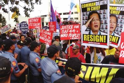 律宾40名警方特种部队成员遭伏击身亡 警察总长辞职图片