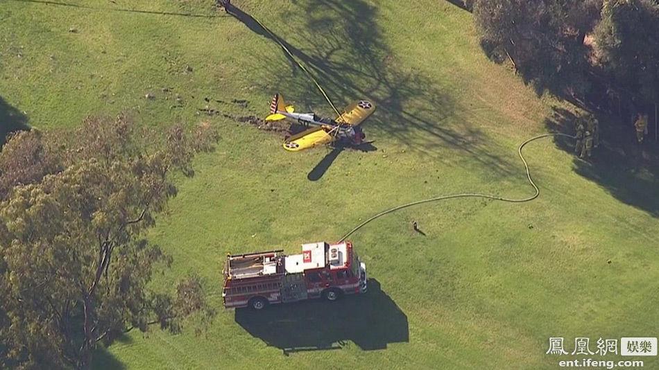 好莱坞男星哈里森-福特坠机重伤 儿子亲证:爸爸没事