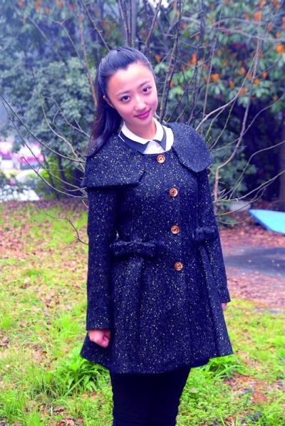 武汉大学的素颜女生