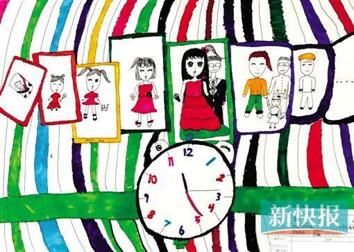 """■夏艳 (10岁) 岁月流失(第二届""""杨之光杯""""青少年创意美术大赛获奖作品)"""