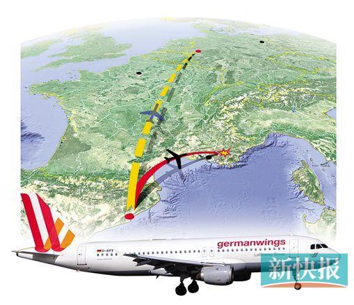 (西班牙)飞往杜塞尔多夫(德国)的飞机(编号4u9525)在法国南部坠毁,机