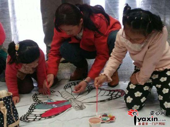 diy风筝又叫涂鸦绘画风筝,适合6——12岁儿童.