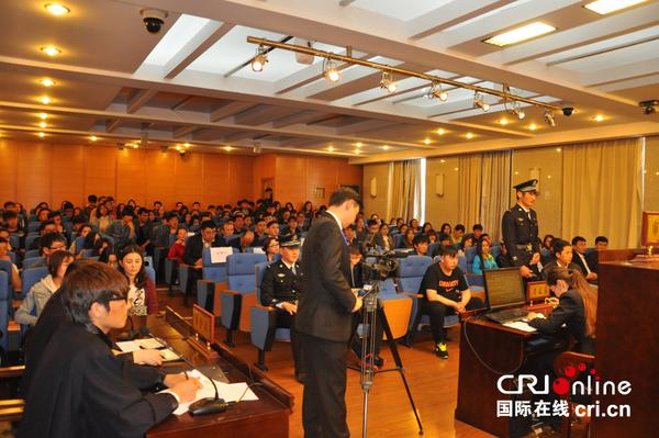 中国政法大学举办第五届哈萨克语模拟法庭活动(组图)