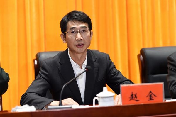 云南省委常委,省委宣传部部长赵金出席纪念大会并讲话,他说,对扎西